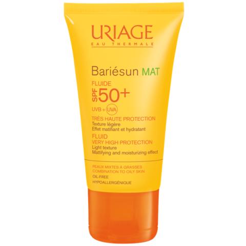 Uriage BARIÉSUN MAT arckrém SPF50+ zsíros bőrre 50ml
