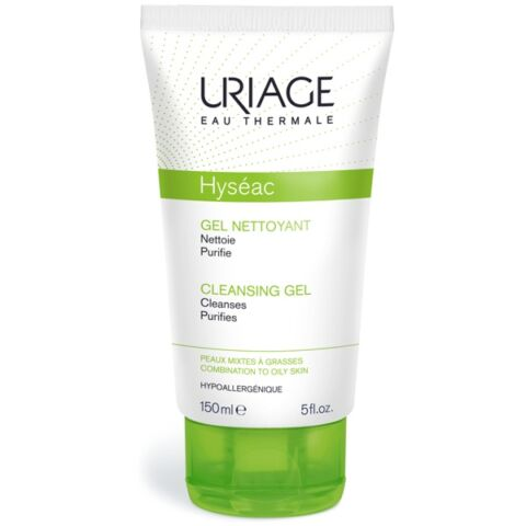 Uriage HYSÉAC Habzó tisztitó gél zsíros bőrre 150ml