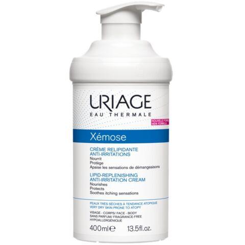 Uriage XÉMOSE Krém száraz/nagyon száraz bőrre 400ml