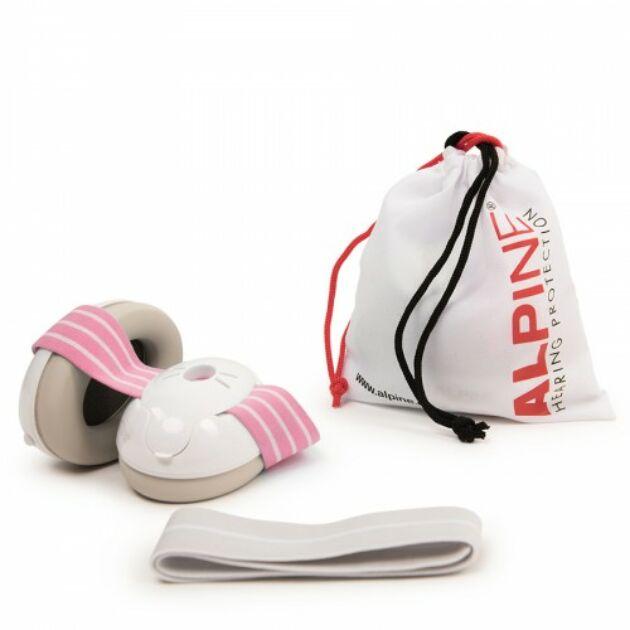Alpine Muffy Baby Hallásvédelem csecsemőknek - rózsaszín