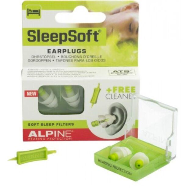 Alpine SleepSoft Füldugó alváshoz,tanuláshoz