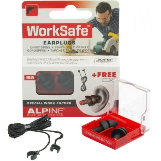 Alpine Work Safe füldugó munkához, ház körüli teendőkhöz