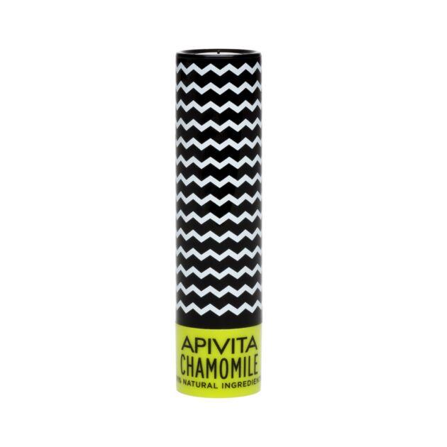 APIVITA Ajakápoló stift kamillával, SPF15 fényvédelemmel 4,4 g
