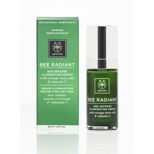 APIVITA BEE RADIANT Bőrfiatalító és ragyogást fokozó szérum 30 ml