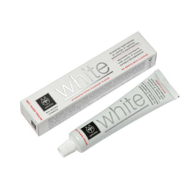 APIVITA NATURAL DENTAL CARE White fogkrém 75ml