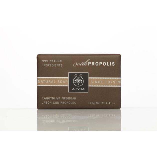 APIVITA Natúr szappan propolisszal, zsíros bőrre 125 g