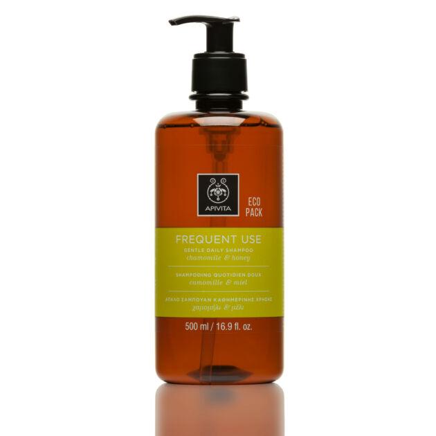 APIVITA Sampon ECO gyakori hajmosáshoz 500ml