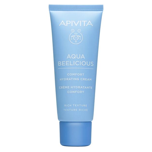 APIVITA AQUA BEELICIOUS hidratáló krém RICH normál/száraz bőrre 40ml