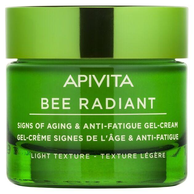 APIVITA BEE RADIANT Bőröregedés és fáradtság jelei elleni gél-krém LIGHT 50 ml
