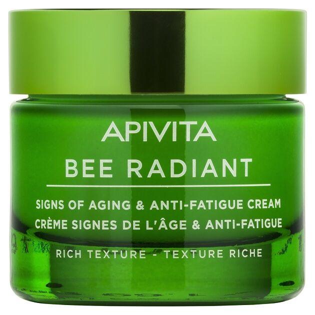 APIVITA BEE RADIANT Bőröregedés és fáradtság jelei elleni arckrém RICH 50 ml