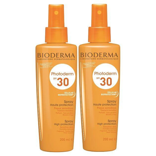 Bioderma Photoderm Spray SPF30/UVA16 DUO PACK