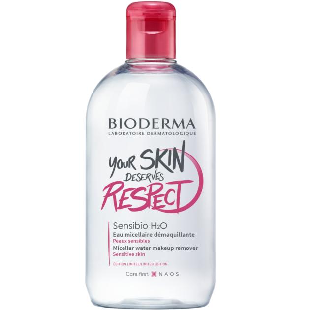 Bioderma Sensibio H2O arc- és sminklemosó 500ml + AJÁNDÉK sminklemosó