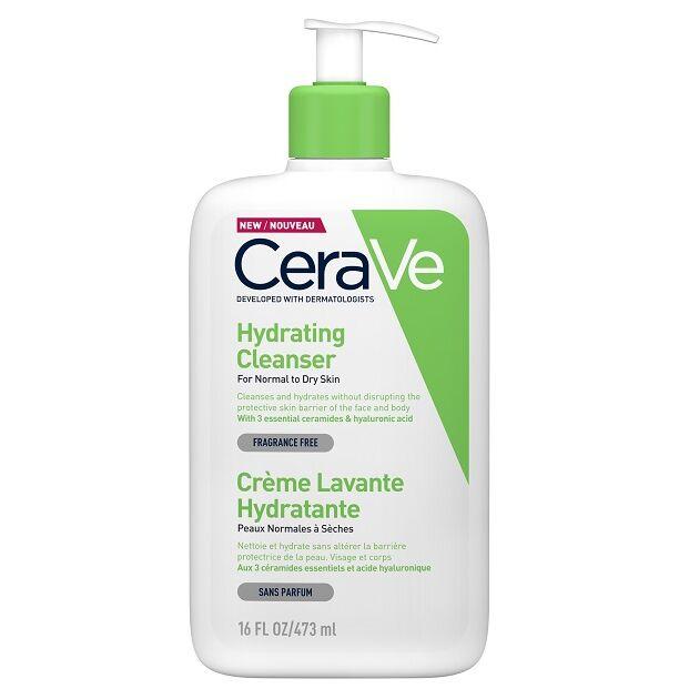 CeraVe Hidratáló tisztító krém normál és száraz bőrre