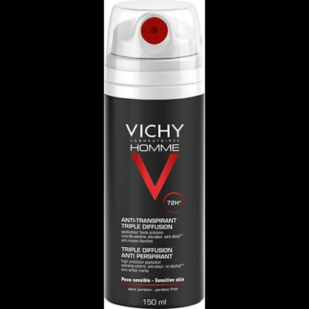 Vichy Homme dezodor 72 órás izzadságszabályozó 150 ml