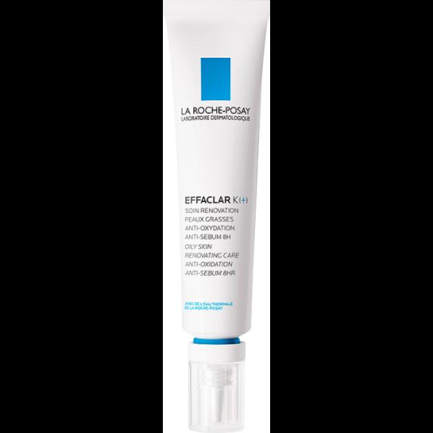 La Roche-Posay Effaclar K+ arcápoló krém zsíros bőrre 40ml