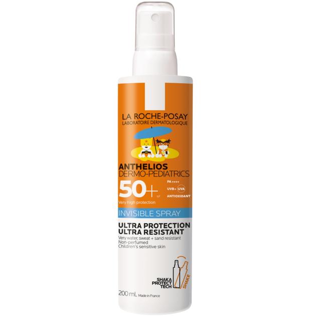 La Roche-Posay Anthelios Dermo-Pediatrics Gyermek Shaka Spray SPF50+ 200ml