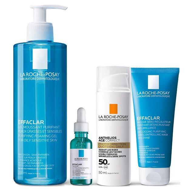La Roche-Posay Effaclar Program Felnőttkor iaknéra hajlamos és zsíros bőr ellen