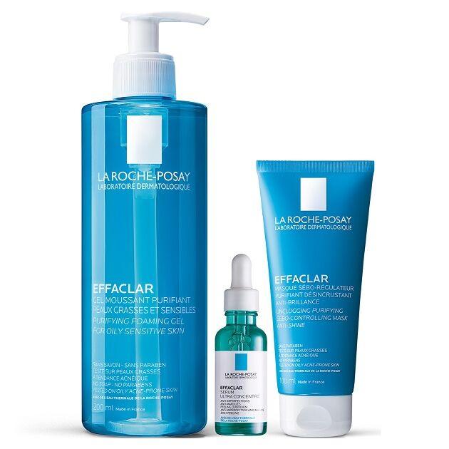 La Roche-Posay Effaclar Program Felnőttkori aknéra hajlamos és zsíros bőr ellen