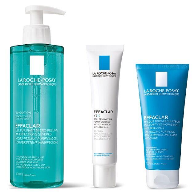 La Roche-Posay Effaclar Program Mitesszerek és zsíros bőr ellen