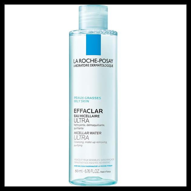 La Roche-Posay Effaclar Ultra micellás arctisztító zsíros, érzékeny bőrre 50ml