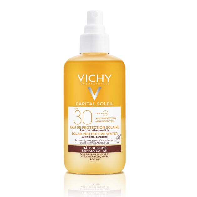 Vichy Capital Soleil ultra könnyű napvédő spray bétakarotinnal SPF30 200ml