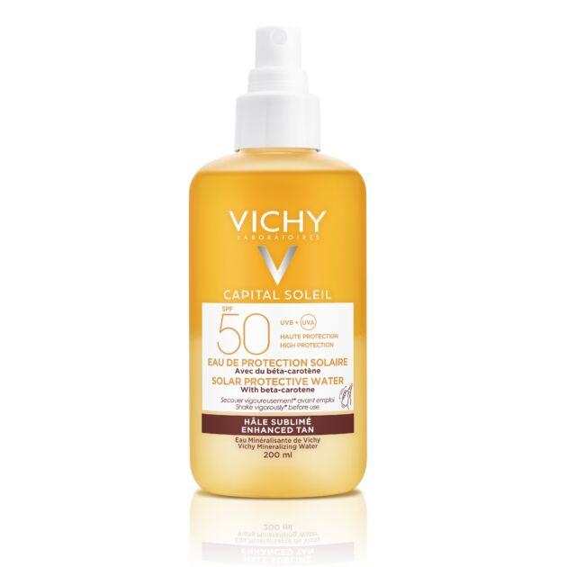 Vichy Capital Soleil ultra könnyű napvédő spray bétakarotinnal SPF50 200ml