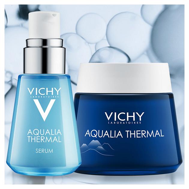 Vichy Aqualia Thermal Arcápolási Rutin hialuronsavval