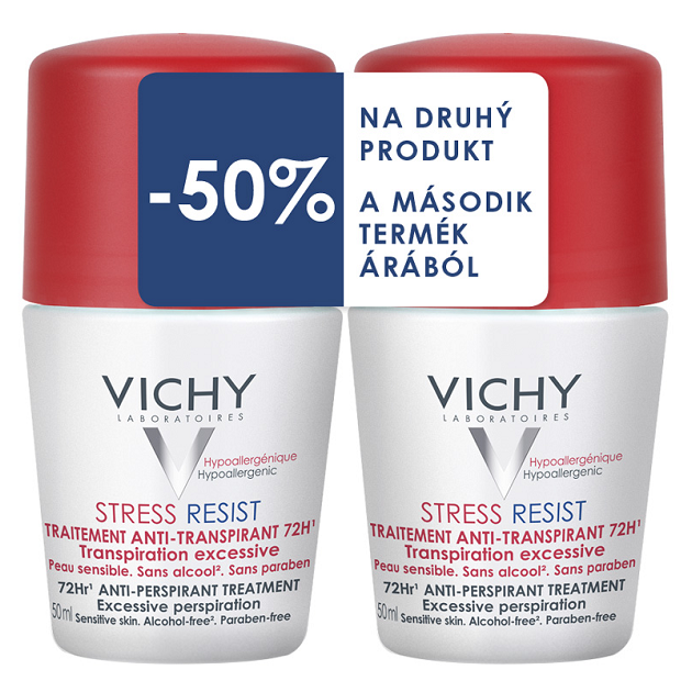 Vichy dezodor Stress Resist izzadásgátló (50ml+50ml) DUO PACK