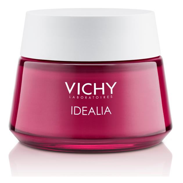Vichy Idéalia bőrkisimító és ragyogást adó, energizáló arckrém száraz, nagyon száraz bőrre 50 ml