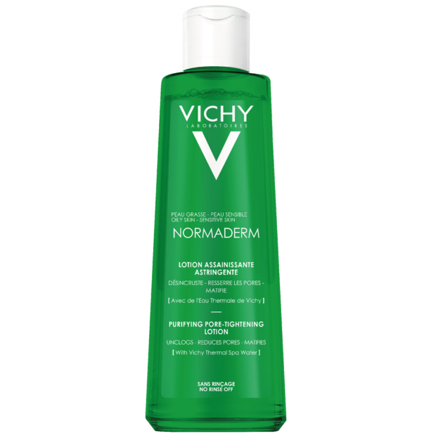 Vichy Normaderm pórusösszehúzó tonik problémás és érzékeny bőrre 200 ml