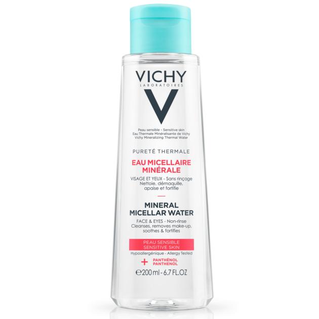 Vichy Pureté Thermale micellás arctisztító víz érzékeny bőrre 200ml