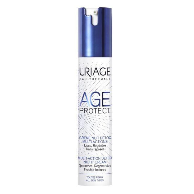 Uriage AGE PROTECT DETOX éjszakai ránctalanító krém 40ml