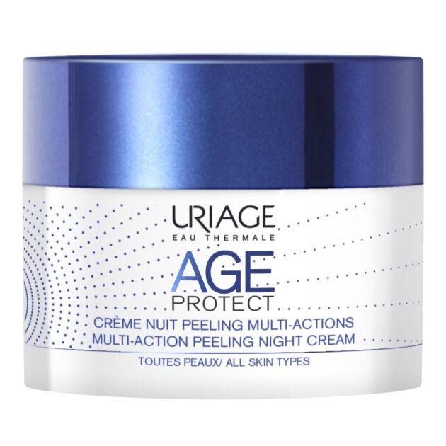 Uriage AGE PROTECT PEELING éjszakai ránctalanító krém 40ml