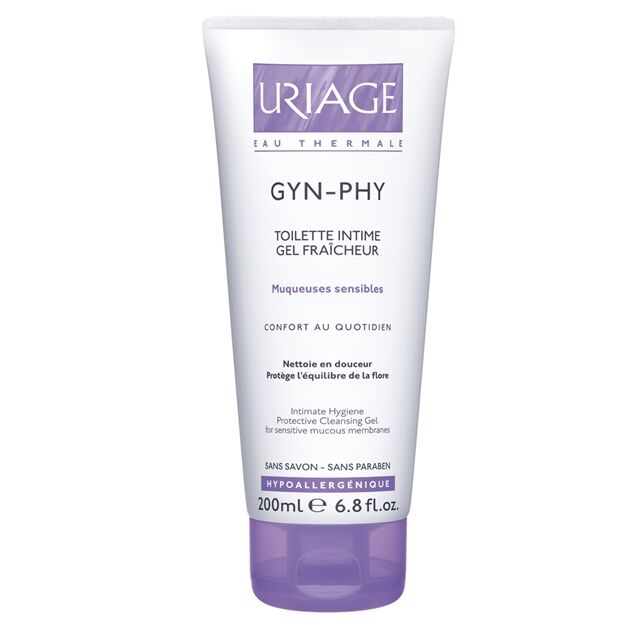 Uriage GYN-PHY intim mosakodó gél 200ml