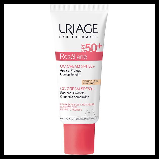 Uriage ROSÉLIANE CC Krém SPF50+ rosacea ellen 40ml