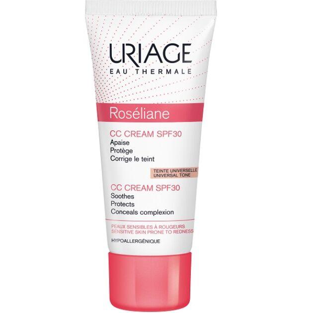 Uriage ROSÉLIANE CC Krém SPF30 rosacea ellen 40ml