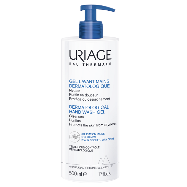 Uriage hidratáló bőrkímélő kézmosó gél 500ml