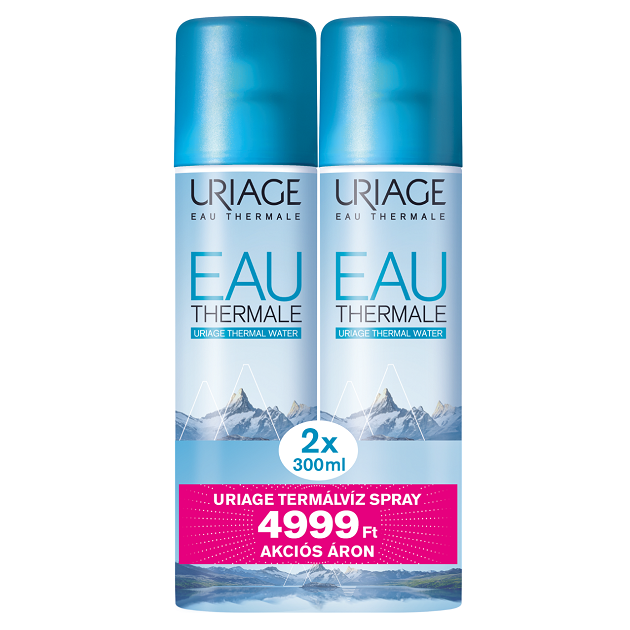 Uriage EAU THERMALE D'URIAGE termálvíz spray DUO PACK