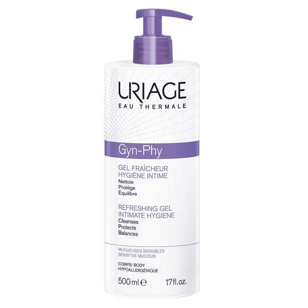 Uriage GYN-PHY intim mosakodó gél 500ml